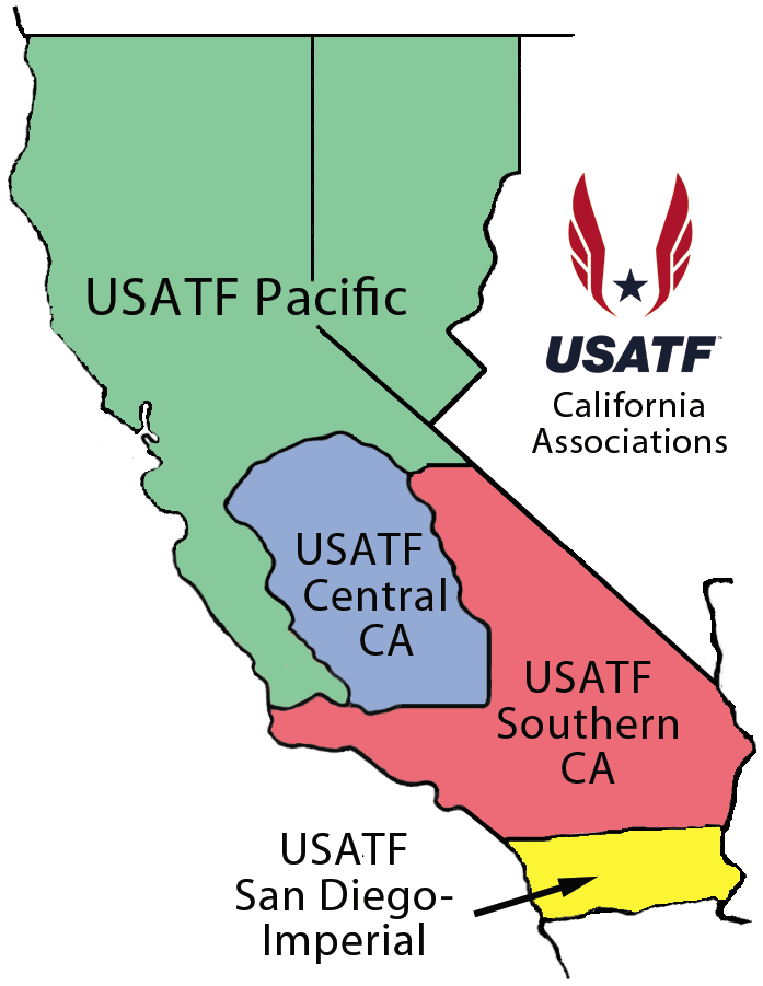 Usa Track And Field Map It Online Registration | PAUSATF
